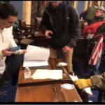 En video: periodista infiltrado saca a la luz imágenes inéditas de toma del Capitolio