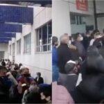 Denuncian caos en vacunación de adultos mayores en Bogotá