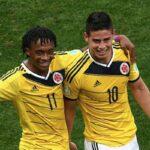 """""""Más que un compañero, James es un amigo"""", dice Cuadrado"""