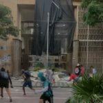 Vándalos atacan alcaldía de Barranquilla